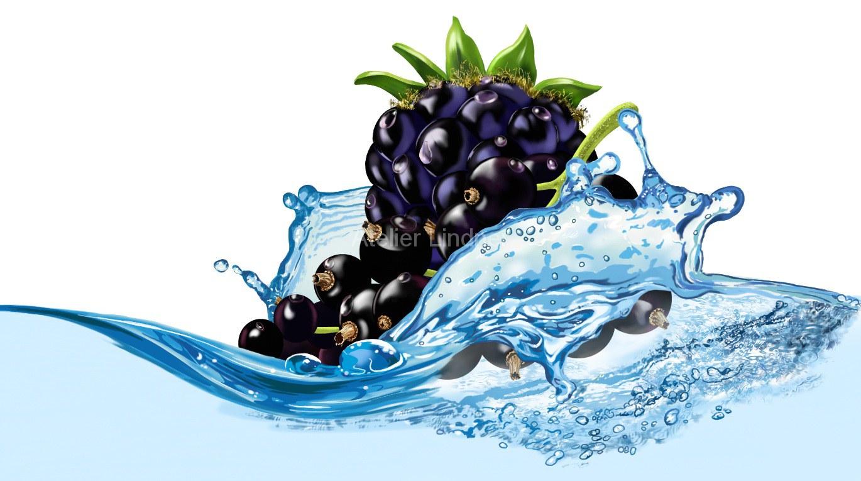 frucht-im-Wasser